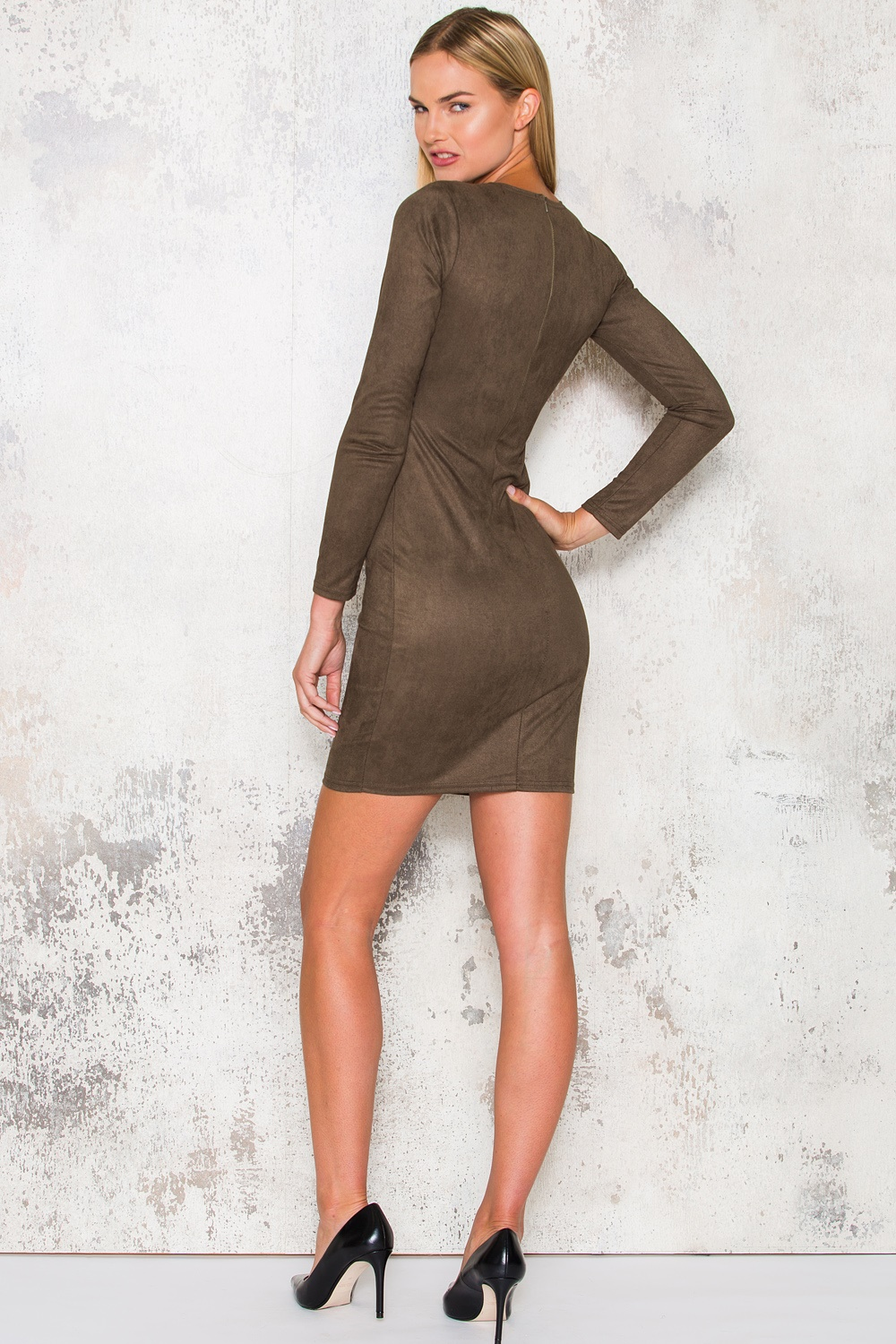 Kylie Dress - Army Green
