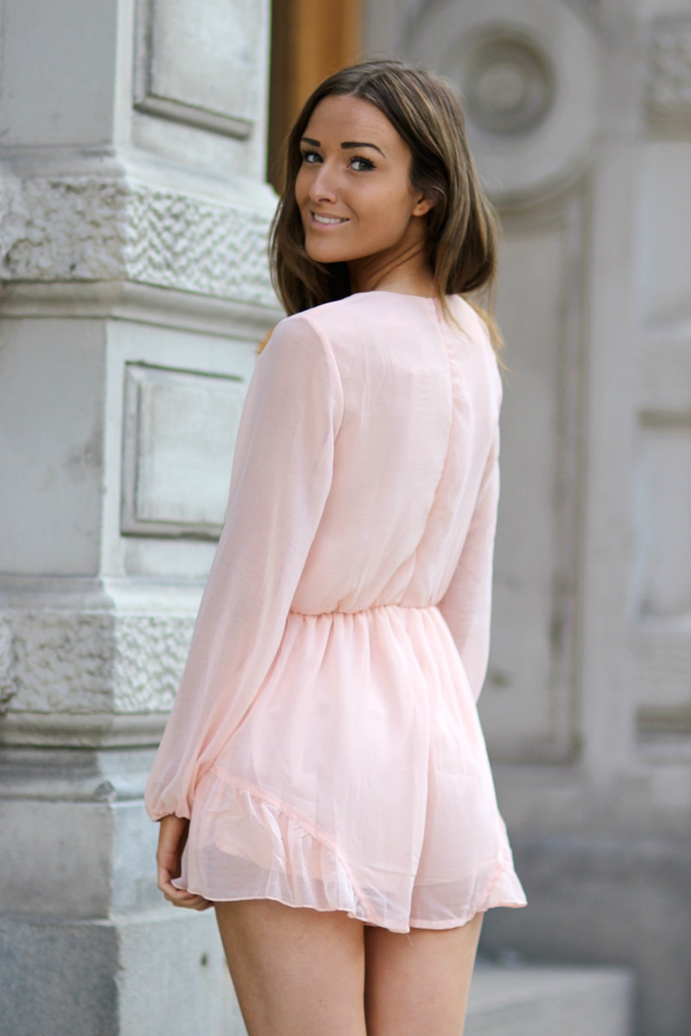 Florence Playsuit Pink