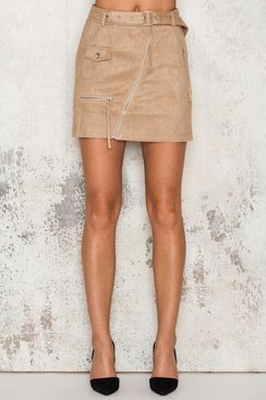 Reflection Skirt - Beige