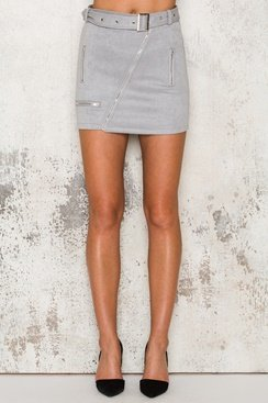Reflection Skirt - Light Grey