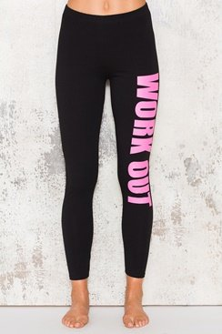 Work Out Pants - Pink